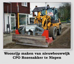 Woonrijp nieuwbouwwijk CPO Rozenakker Nispen